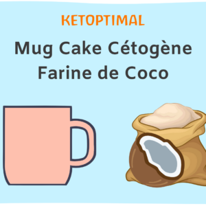 Mug Cake Cétogène à la Farine de Coco
