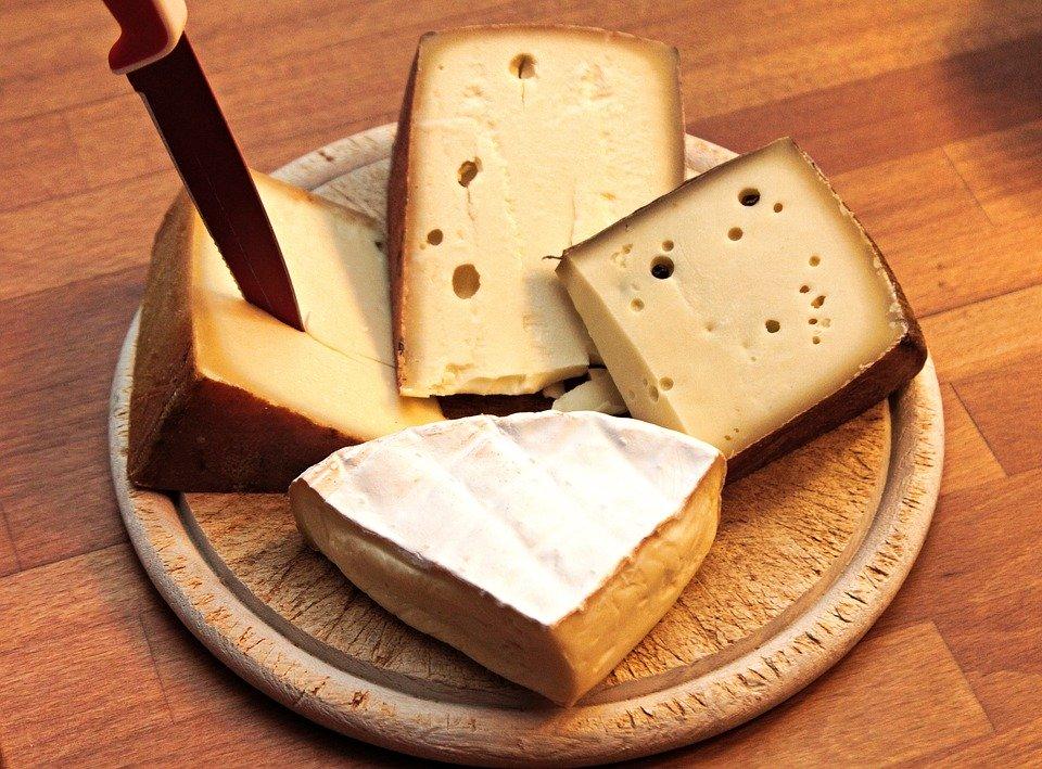 Les fromages à pâte dure sont autorisés en keto